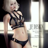 JF Design-Kathy [ Maitreya / Belleza ]Panties/Top  - Black Demo