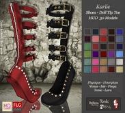 :: No Cabide :: Karlie Shoes - Doll Tip Toe HUD 30 Models