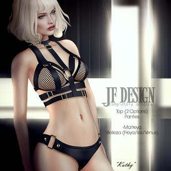 JF Design - Kathy [ Maitreya / Belleza ] Top - Black