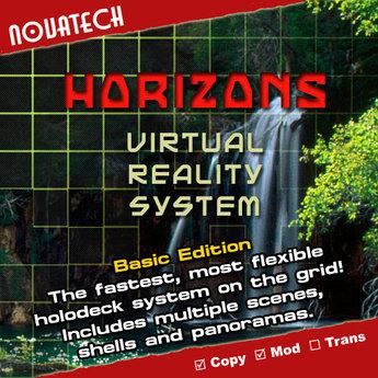 HORIZONS Multi-Scene Rezzer, Basic Edition