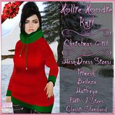 Hollie Hoodie Knit Christmas - Gift December