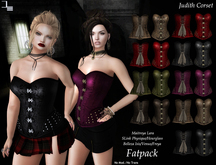 DE Designs - Judith Corset - Maitreya Lara, Belleza (All), Slink Physique-Hourglass - Mesh - Fatpack