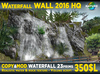 Realistic Waterfall WALL 2016 HQ with shiny water and waterfall sound script + offsim version