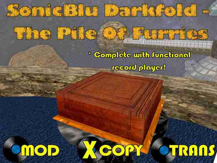 The Parody Collection: SonicBlu Darkfold - The Pile Of Furries (with FREE WORKING RECORD PLAYER)