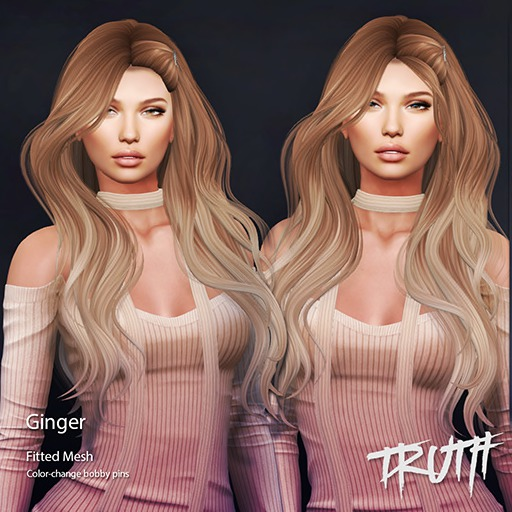 TRUTH HAIR Ginger - DEMO