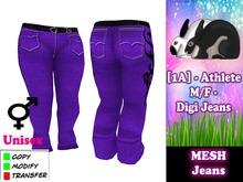 [1A] - Athlete M/F - Digi Jeans purple
