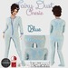 ::LL:: Blue Fairy Dust Onesie Pajamas {BOXED}