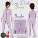::LL:: Purple Fairy Dust Onesie Pajamas {BOXED}