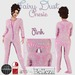 ::LL:: Pink Fairy Dust Onesie Pajamas {BOXED}