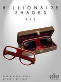 *  SORGO - Billionaire Shades / RED