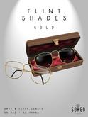 * S O R G O - FLINT Shades / GOLD