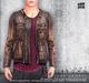 [Deadwool] Leather jacket - light brown