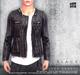 [Deadwool] Leather jacket - black