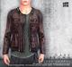 [Deadwool] Leather jacket - dark brown