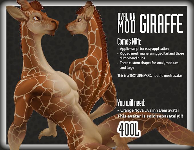 ::Static:: Dvalinn Giraffe - Somali