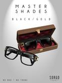 * SORGO - MASTER Shades / BLACK&GOLD