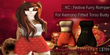 .::KC::.Festive Furry Romper