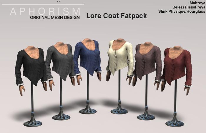 !APHORISM! Lore Coat Fatpack