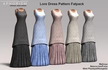 !APHORISM! Lore Dress Pattern Fatpack