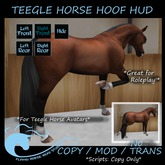 Teegle Horse Hoof HUD