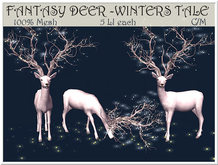 LOVE - FANTASY DEER - WINTERS TALE  - **SPECIAL EDITION**