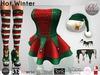 Nina Nerys - Hot Winter Joy outfit Maitreya/Belleza/TMP/Slink/Tonic