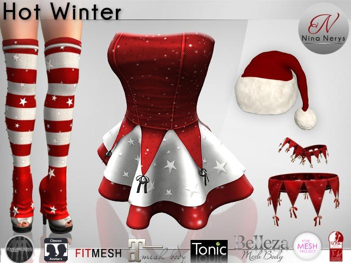 Nina Nerys - Hot Winter Princess outfit