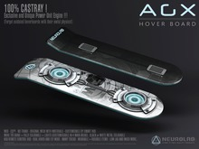*NEW* AGX HOVERBOARD - NextGen Engine (MESH+Materials) [Neurolab Inc.] Cyber Cyberpunk