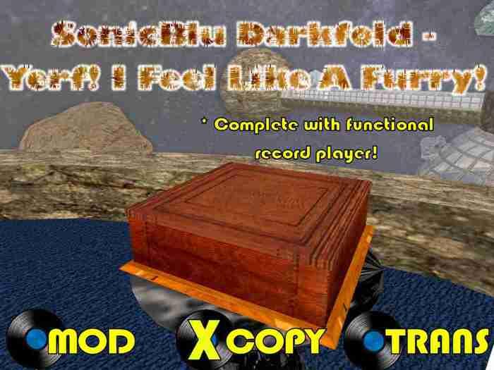SonicBlu Darkfold - Yerf! I Feel Like A Furry!