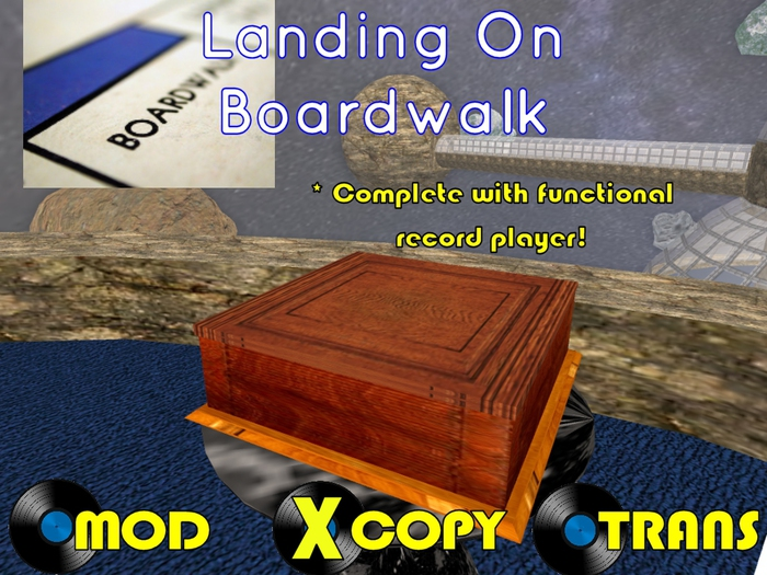 The Parody Collection: SonicBlu Darkfold - Landing On Boardwalk (with FREE RECORD PLAYER)