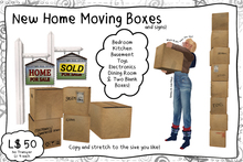 -RC- New Home Moving Boxes