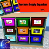 Teachers Supply Organizer (crate)