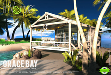 inVerse® MESH- Grace Bay_ full furnished mesh beach mini cottage