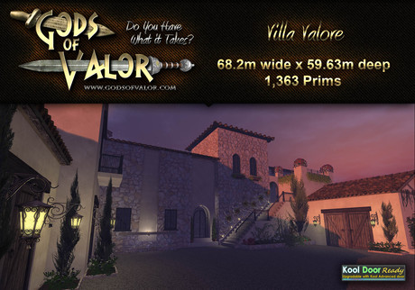 Gods of Valor - Villa Valore
