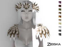 Zibska ~ Daleka Color Change Circlet and Shoulder Pieces