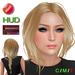 "eDeLsToRe woman mesh hair "" Ruby "" incl all 24 color HUD"