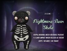 [ abrasive ] Nightmare Bear - Skele