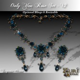 Zuri Rayna - Only You Rose Set V2 - Turquoise/Ocean