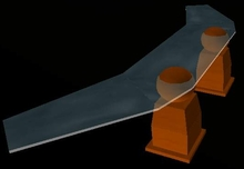 Trek Designs - Captain's Quarters Desk - Boxed