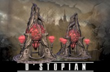 D'STOPIAN // Rising from Fire (black stone) [BOXED]