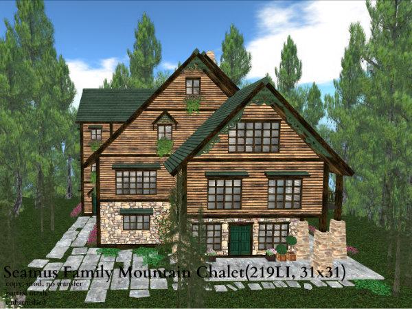Seamus Family Mountain Chalet(219LI, 31x31)