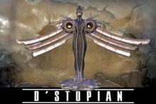 D'STOPIAN // Steampunk Lady Statue