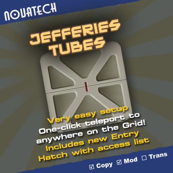 Jefferies Tubes Click-and-Go Teleporter