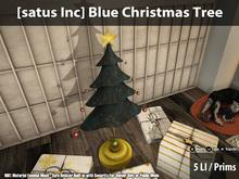 [satus Inc] Blue Christmas Tree