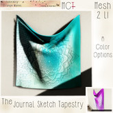 ~ASW~ The Journal Sketch Tapestry