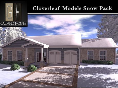 Cloverleaf Models Snow Packages