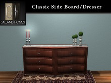 Classic Side Board / Dresser by Galland Homes