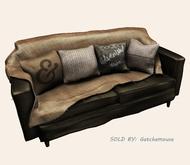 {vespertine}tiny dwelling - lazy sofa / brown 3