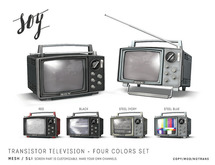 Soy. Transistor Television [addme]