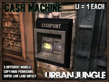 CASH MACHINE - 1LI MESH - URBAN JUNGLE